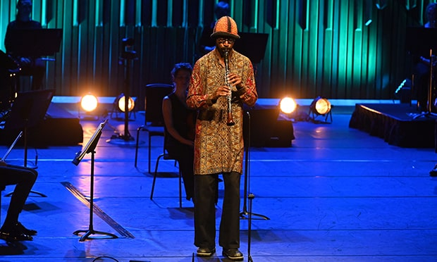 Shabaka Hutchings and the Britten Sinfonia, Barbican, music review